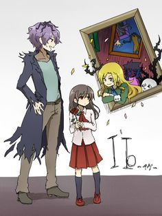 Ib. A horror rpg game about a little girl that gets lost in an art gallery. I really wanna play this. ;-;