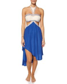 Whisked Away dress in cobalt blue, AU$119.95 by Pink Stitch, from Surfstitch, Australia.