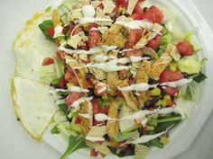Knock Off to Chili's Quesadilla Explosion Salad