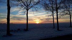 Ingezonden foto: zonsopkomst Kloostermanswijk Klazienaveen