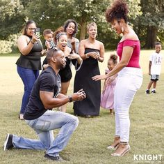 She said yes!! Congrats lovebirds  #munaluchi #munaluchibride . . #Repost @rossoscarknight  Surprise marriage proposal for my sister @schelleybelle this morning at Piedmont Park! Congrats and welcome to the family @marckdorvil !  #proposal #marriage #piedmontpark #knightweddings