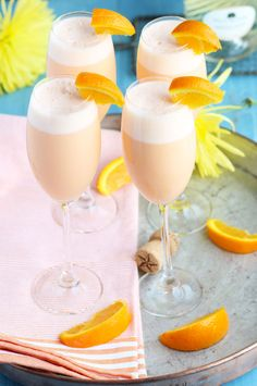 These Pineapple Orange Creamsicle Mimosas are an ethereal blend of pineapple…