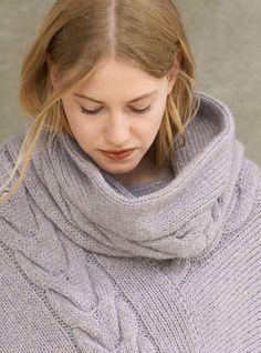 Lana Grossa LOOP Cool Wool Alpaca - PONCHOS 1 Flyer - Modell 9b | FILATI.cc…