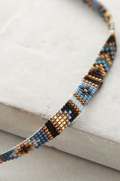 Sunlight Beaded Choker - Jewelry for everyday. High quality low prices! Made in England designer jewelry. Sterling silver