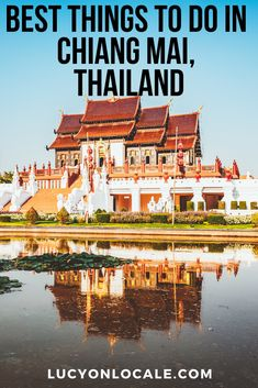 Top things to do in Chiang Mai: from temples, festivals and elephant sancturaries to must-visit national parks, Chiang Mai has something for everyone. Thailand Destinations, Thailand Travel Guide, Visit Thailand, Mexico Travel, Asia Travel, International Travel Tips, Travel Route, South America Travel, Koh Tao