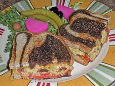 Chef JD's Street Vender Food: Neon Tuna Melt with Roasted Red Pepper