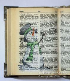 StampingMathilda: Dictionary - Snowman