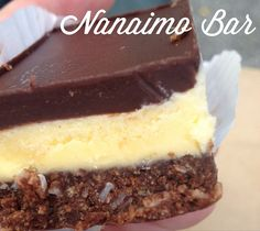 Nanaimo Bars - Homemade and Lovely!