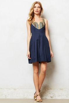 Satine Embellished Dress - anthropologie.eu