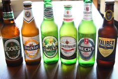 BEST NON-ALCOHOLIC BEERS. Cool & legal for 18th b-day.
