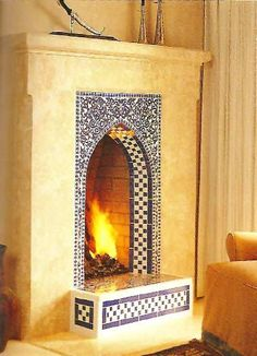 Good fireplace tile designs create a natural focal point in any room. When designed with class and style, the fireplace can become the star feature. There are a lot of options to choose from, so take a look at these pictures to help you decide.