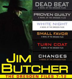 The Dresden Files Collection 7-12 by Jim Butcher