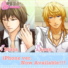 ★New Release!!★ For iPhone Users!!  Finally,「Pure Love」for iPhone is NOW available!!   -Masa ver.- https://itunes.apple.com/us/app/purelove-complete-ver.-masa/id798546442  -Leon ver.- https://itunes.apple.com/us/app/purelove-complete-ver.-leon/id798552738  Free Download!! Please enjoy this game!!  #koyonplete #otomegame #otome