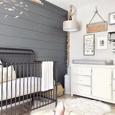 Loving The Subtle Nautical Vibes In This Sweet E Image By Tableandhearth Nursery Twins