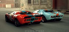 Reunited : A Pair of Australian Ford GT40s - Stance Works