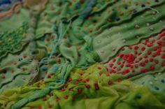 Textiles by Katherine Peever, via Behance