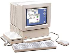 """My first """"real"""" computer.  Even bought a 60MB external hard drive for it ( $600 for the hard drive)"""