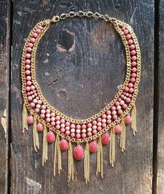 pinterst coral jewelry | Coral necklace. | Magdalena Stokalska Jewelry