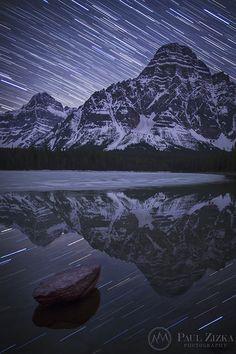 Midnight Majesty - Waterfowl Lakes, Banff National Park, Alberta, Canada - Paul Zizka