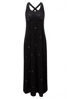 Killstar Stargazer Maxi Dress | Attitude Clothing