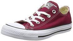 Damen Niedrige Sneaker, Fucshia, 3 UK Converse
