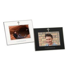 Confirmation Frame*Catholic Gifts Simple and elegant, these metal frames come in your choice of white or black and feature the holy Cross of our Christian Faith at the top. Keep your favorite photo from that most special day of the Spirit. Catholic Confirmation, Catholic Gifts, Metal Frames, Holy Cross, Get Directions, Easy Gifts, Christian Faith, How To Know, Special Day