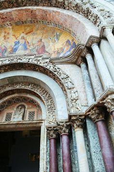 Basilica San Marco in Venice, Italy                                                                                                                                                     More
