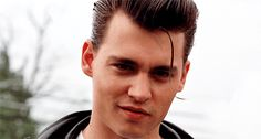 "Which Johnny Depp Character Is Your True Love?  Wade ""Cry-Baby"" Walker (from the 1990 movie ""Cry-Baby"") is your true love! He's sensitive yet rebellious, has some manners, and will French kiss you until your tongue hurts!"