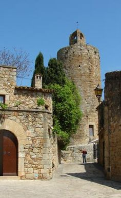 La Vila de Pals, Baix Empordà  Catalonia