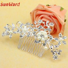>> Click to Buy << SunWard Good Deal Fashion Sweet Bridal Wedding Flower Imitation Headband Hair Clip Comb Jewelry for Women Perfect Gift 1PC #Affiliate