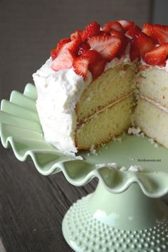 Recipe   The best homemade white cake recipe I have ever tasted.  Soft and moist with a great flavor and texture.