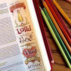 Created by: Karla Smallwood-Dornacher- Bible Journaling, Bible Art Journaling.