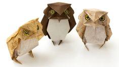 Замечательная оригами Сова из бумаги! Как сделать сову