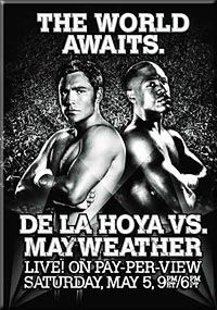 De La Hoya vs Mayweather_2007 Boxing Posters, Movie Posters, Hbo Boxing, Pay Per View, Floyd Mayweather, Eye Candy, Ropes, Announcement, Magazines