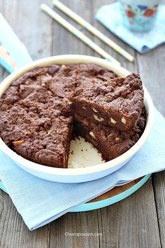 Torta cookie al cioccolato in padella   Chiarapassion