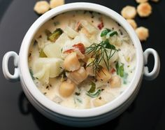 Coconut & Lime: recipes by Rachel Rappaport: Scallop Fennel Chowder