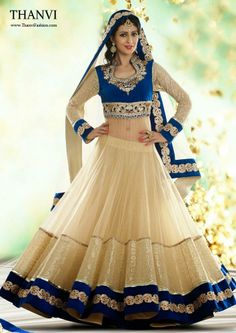 Beautiful Bridesmaid Lehnga Choli Designs By Utsav Fashion: Beautiful Designs Bridesmaid Lehnga Choli for Miss Utsav Fashion is recently realesed, is the mode unsuspecting Utsav is one of the most … Indian Bridal Lehenga, Indian Bridal Wear, Indian Wear, Anarkali Bridal, Blue Bridal, Choli Designs, Lehenga Designs, Blouse Designs, Indian Attire