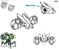 Project Robot - Concepts by type on Behance