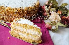 Torta deliziosa napoletana, dolce alle nocciole, torta di compleanno, doppia crema, pasta di nocciole, dolce facile, torta della domenica, crema pasticcera, panna
