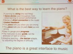 Not just true of the piano! HT/ JackieGerstein Ed.D. ‏@Jackie Gerstein