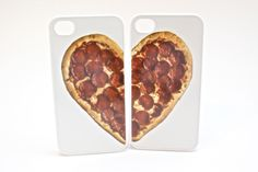 Pizza Heart Best Friend Phone Cases by oliviaroseinc on Etsy https://www.etsy.com/listing/209587277/pizza-heart-best-friend-phone-cases
