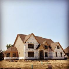 Our new St. Andrews model is coming along in Country Club Estates!