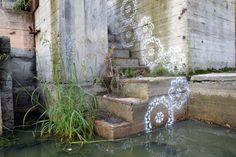 Street Art | NeSpoon, Lace Graffiti