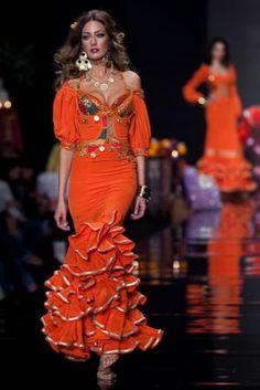 Spanish Dress, Spanish Woman, Spanish Fashion, Fishtail, Party Wear, Bridal, Chic, Celebrities, My Style