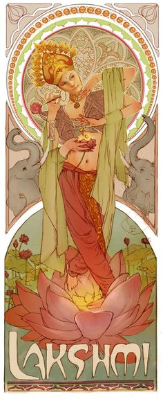 Lakshmi by ~ggatz on deviantART