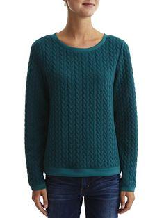VIBRADY - SWEATSHIRT #vilaclothes #clothes #knit #top #staywarmn #autumn