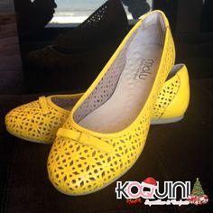 Amarelo combina com verão e essa sapatilha, com conforto. Já tem a sua? Compre aqui: http://koqu.in/19GGJWK #koquini #sapatilhas #euquero #conforto #malusupercomfort