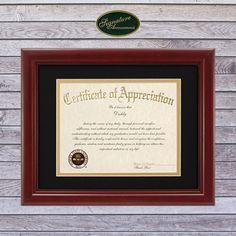 16 x 16 Matte Mahogany Signature Announcements Seattle University Undergraduate Sculpted Foil Seal Graduation Diploma Frame