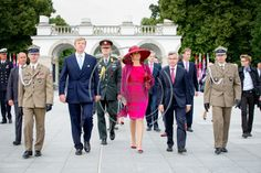 24 June 2014 - Day 1  King Willem-Alexander and Queen Maxima are currently in Poland for a two - day official visit.