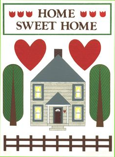 Home sweet home by Mary Ellen Wolff